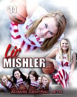 ACHS Girls Basketball Banners {class of 14}