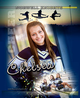 Norwell Cheerleading banners {class of 14}