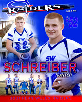 Southern Wells Football Banners [class of 2015]