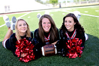 Bluffton High School Football & Cheer Banners [class of 2015]