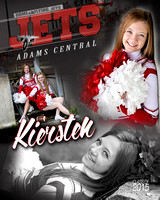 ACHS Cheer Banners {class of 2015}