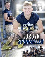 Norwell Football Banners [class of 18]