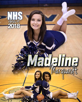 Norwell Basketball Cheer Banners {class of 18}