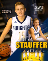 Norwell Boys Basketball Banners [class of 17]