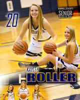 Norwell Girls Basketball Banners {class of 17}