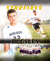 South Adams Boys Soccer banners [class of 2014]